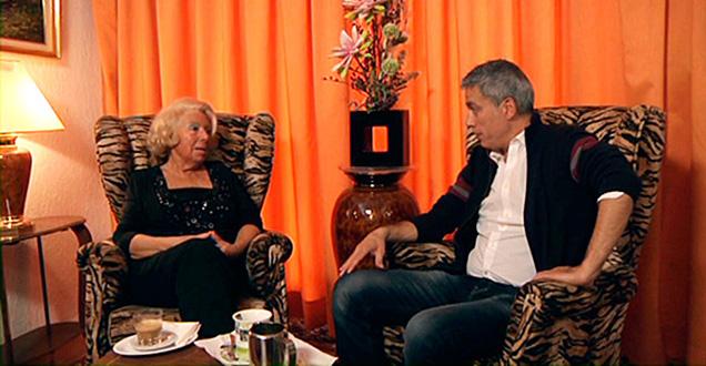El convidat a casa de la Sra. Rius a Barcelona